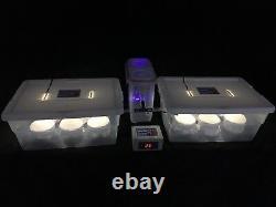 Elite Mushroom Growing Kit with 12 PF Tek Style Jars Expandable/Automated