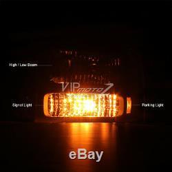 FULL CONVERSION KIT 1999-2004 Ford F250 F350 SuperDuty Headlights Bumper Lamps