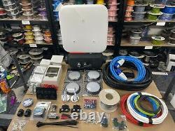 Full Camper van Wiring Kit Conversion Mains 240v 12v 5KW Diesel Night heater