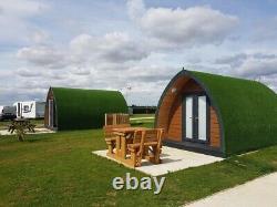 GRP/Composite Glamping, Pod Shell, Garden Office, Self Build Kit (3m x 5m)