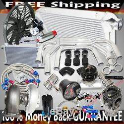 GT45 Turbo 3 Intercooler +Piping+BOV+Oil Cooler Kits Stage III High Performance