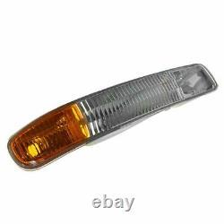 Headlight Headlamp Corner Parking Fog Driving Light Set Kit for GMC Sierra Yukon