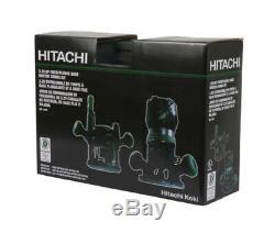 Hitachi KM12VC 11 Amp 2-1/4 HP Plunge & Fixed Base Vari Speed Router KIT- NEW