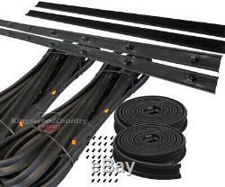 Holden Bailey Door Belt Weather Seal Strip FRONT Kit HJ HX HZ WB belt rubber