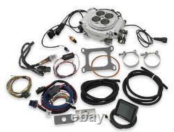 Holley 550-510 Sniper EFI Fuel Injection Conversion Kit fits all V8's Polished