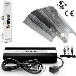 IPower HPS MH Digital Dimmable Grow Light System Kits Wing Reflector Set