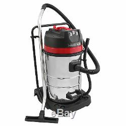 Industrial Vacuum Cleaner Wet and Dry 80L CARWASH KIT 6pc Free Kit 3000W