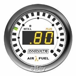 Innovate 3918 MTX-L PLUS Wideband O2 AFR Air Fuel Ratio Gauge Kit & Bosch LSU4.9