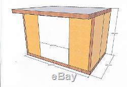Insulated Garden Studio Office Room Pod, DIY Self Build Kit, Bespoke SIPs Panels