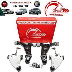 Kit Bracci Sospensione Anteriori Alfa Romeo 147 156 Gt 8pz. Rinforzati Speed