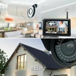 Kit Videosorveglianza Wireless Full Hd Ip 8 Telecamere Ahd Nvr 3g 320 GB