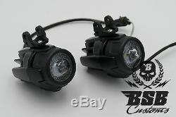 LED Zusatzscheinwerfer + Montagekit für BMW Scheinwerfer GS 1200 Adventure