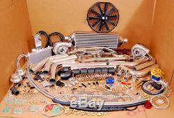 MOPAR SMALL BLOCK TT DODGE RT 1000HP Twin Turbo KIT 318 340 360 5.2L 5.9L MAGNUM