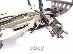 NEW TRAXXAS SLASH 2wd COMPLETE CHASSIS KIT ROLLER ARMS TOWERS MAIN FRAME 58024