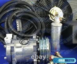 New A/c-kit Under Dash Evaporator Compressor 404 Heat & Cool Rl & Elec. Harness