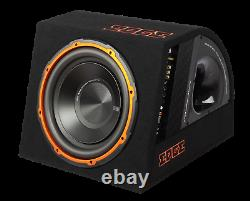 New Edge EDB12A 12 Active Car Subwoofer Built in AMP Inc Wiring Kit