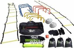 OSG Ultimate Multi Sports Fitness Training Equipment Speed & Agility Kit Set SNR