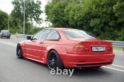 Pandem style wide body kit NON m3 bmw e46 2door prefacelift coupe