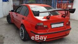 Pandem style wide body kit for bmw e46 sedan/touring (4 doors)