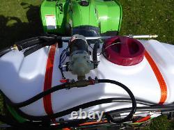 Quad Crop Weed Sprayer Kit 60ltr Tank Atv, 1.5m Boom, Hand Lance Free P & P