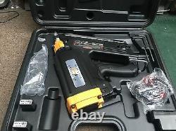 Quikload Sf90 Gas Strip Nailer Paslode Type Nailer Full Kit Excellent Price