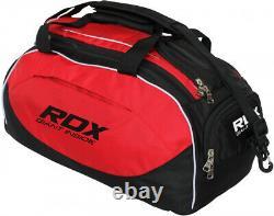 RDX Gym Sports Kit Bag Holdall Backpack Duffle Fitness Training Travel Rucksack