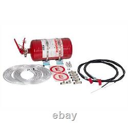 RRS FIA Approved Mechanical 4.25 Litre Fire Extinguisher Kit Race/Racing/Rally