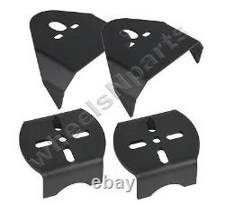Rear Weld On Air Ride Mounting Brackets & 2500 lb Air Bags Suspension Mount Kit