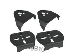 Rear Weld On Air Ride Mounting Brackets with2600 Air Bag Suspension Rear Mount Kit