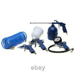 SGS 6 Litre Oil-Less Direct Drive Air Compressor & 5 Piece Tool Kit 5.7CFM, 1