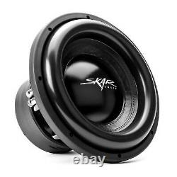 SKAR AUDIO DUAL 12 5,000 WATT COMPLETE BASS PKG With LOADED BOX AMP & WIRE KIT