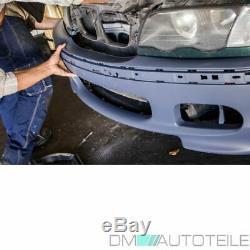 STOßSTANGE Limousine Touring +Nebel Set für M SPORT+MONTAGEKIT passt für BMW E46