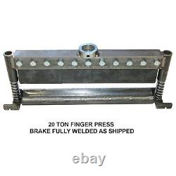 SWAG Off Road 20 Ton Finger Brake DIY Builder Kit