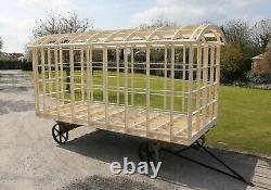 Shepherds Hut Glamping Pod Frame DIY Self Build Kit 4.2m x 2.2m