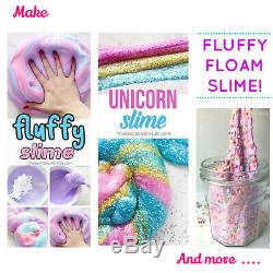Slime Making Kit UK -Best Slime Kit & elmers slime activator + Karina book