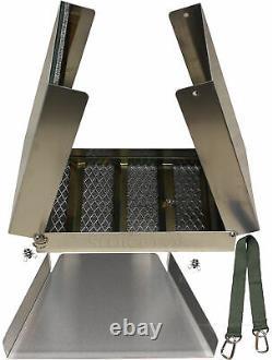 Sluice Fox 22 Piece Gold Mining Kit Folding Aluminum Sluice Box Gold Panning