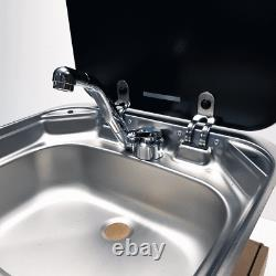 Smev 8005 With Plumbing Kit For Campervan Motorhome With Reich Samba Tap
