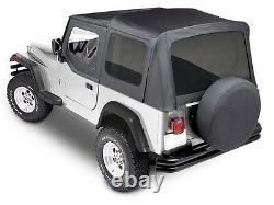 Smittybilt 9870215 Premium Replacement Soft Top Kit 1988-1995 Jeep Wrangler YJ
