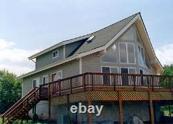 Tahoe A-Frame 32 x 38 Customizable Shell Kit Home, delivered ready to build