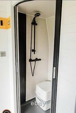 Tambour Door Kit Large Sliding Shower Campervan RV Motorhome MADE TO ORDER
