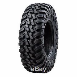 Tusk Terrabite Radial ATV UTV Tire Kit Set Of Four 4 Tires 27x9-12 And 27x11-12