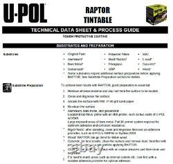 UPOL RAPTOR Tintable Bed Liner TOUGH COATING U-POL 4L KIT (NEW)