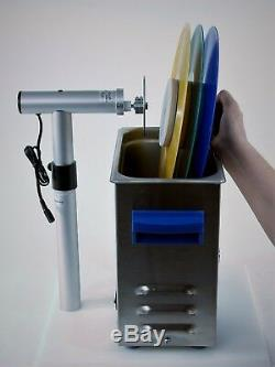 Ultrasonic Vinyl Record Cleaning System Vinyl Stack 3-Record LP Cleaner Kit