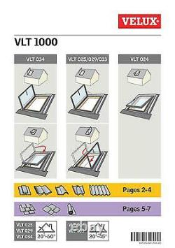 VELUX VLT Conservation Access Loft Roof Window 45x55 cm Skylight + Flashing Kit
