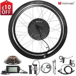 Voilamart 1500W 26Rear Electric Bicycle Wheel Conversion Kit With LCD Meter 48V