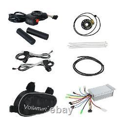 Voilamart 36V500W Front Electric Bicycle E-Bike Conversion Motor Kit Wheel 26