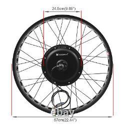 Voilamart 48V1000W Wide Electric Bike Rear Bicycle Wheel Conversion Kit Fat Tire