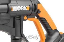 WORX WG629E. 8 Hydroshot 18V Cordless Pressure Cleaner Kit with Bottle Adaptor