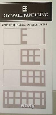 Wall panels panelling kit 2.3m with backboards made to order any size available