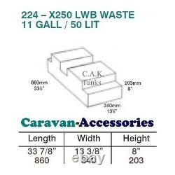 Water Tank Kit Fresh & Waste For Ducato, Boxer, Relay X250/290 Van to Campervan